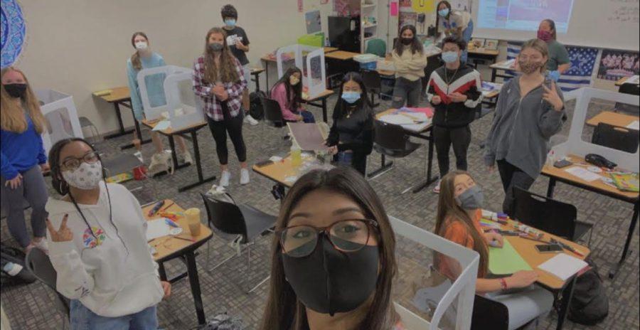 Socially Distanced Classroom