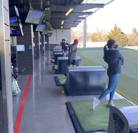 Practice at TopGolf to better Accommodate COVID Protocol